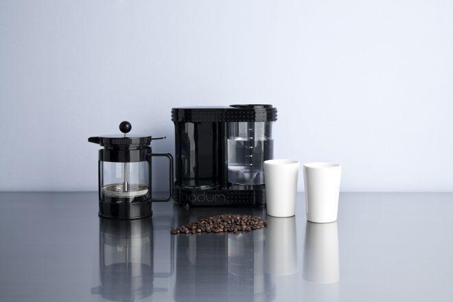truco casero con granos de café