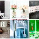 14 objetos que nunca imaginaste que podían decorar tu baño