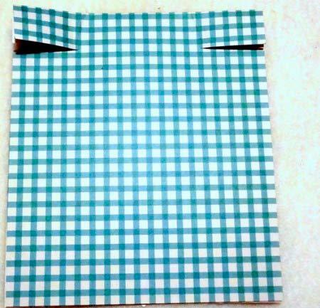 instrucciones manualidad tarjeta día del padre original con corbata (paso 1)