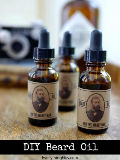 manualidad para regalar a los que llevan barba