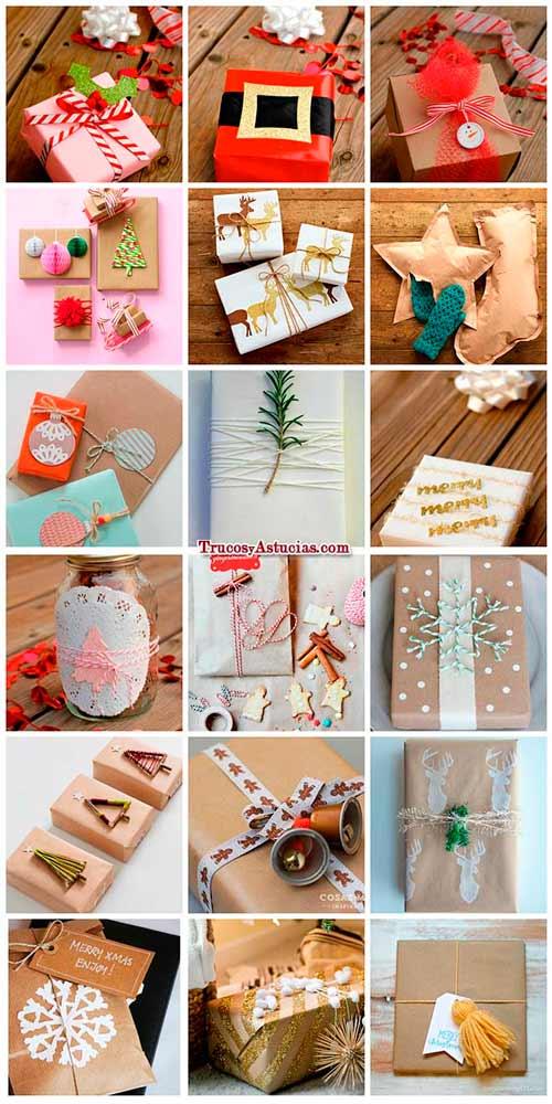 Envolver regalos de forma original reciclando auto - Envolver regalos de forma original ...