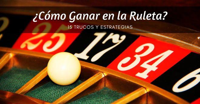 consejos y estrategias para ganar dinero en la ruleta del casino