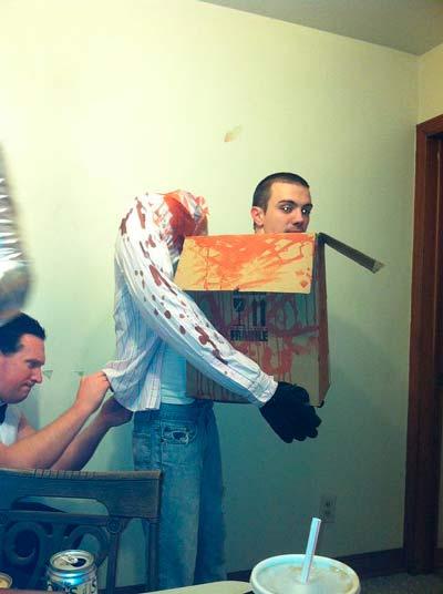 Disfraz casero de halloween para adulto original