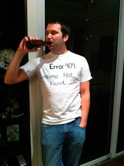 Disfraz casero de halloween para adulto muy divertido: error 404