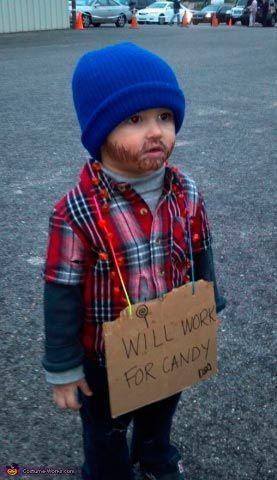 disfraz casero de halloween para niños idea original y divertida. \u201c