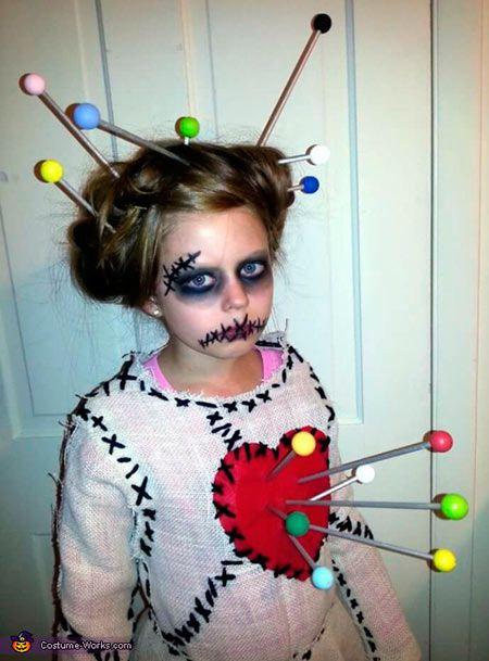 disfraz para niña en halloween