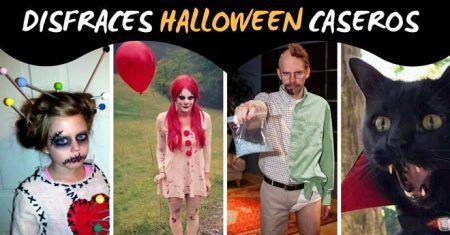 ideas originales para disfrazarse en halloween para adultos (hombres y mujeres) e infantiles (niños y niñas) y mascotas (peros y gatos)