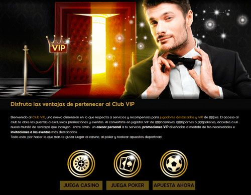 club vip para highrollers del casino en linea 888
