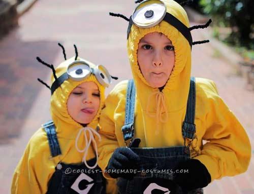 disfraz infantil para minion casero