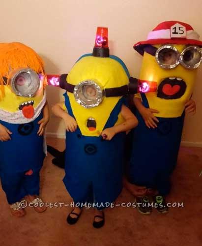 ideas para hacer un disfraz de minion amarillo