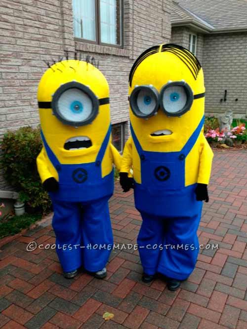 disfraces de minion muy realistas