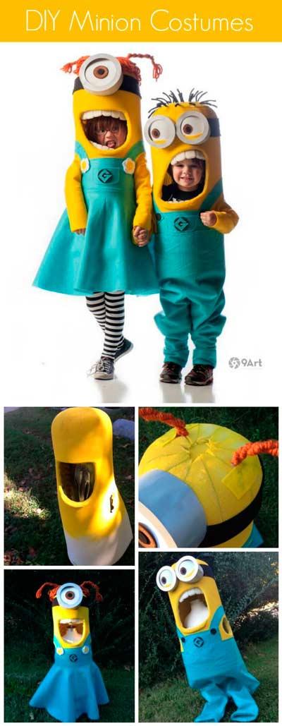 disfraces originales de minion, muy realistas