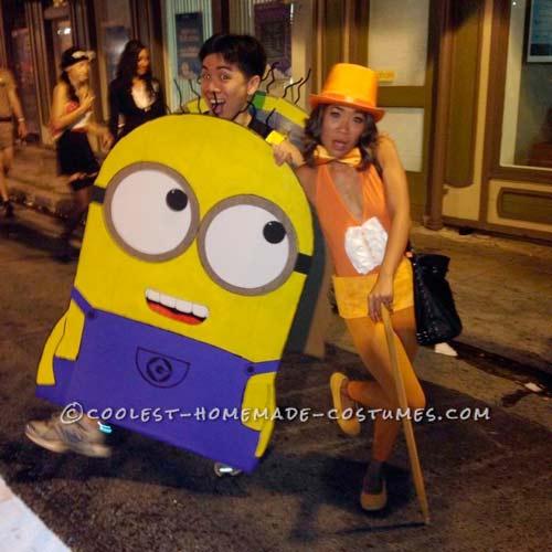 disfraz de minion para carnaval