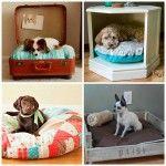 17 originales Camas para Perro que tú puedes hacer