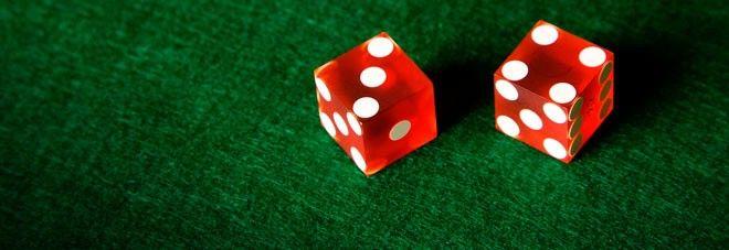 dados rojos juego de azar