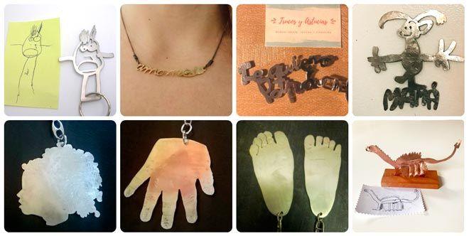 ideas para regalar a una madre originales: joyas personalizadas