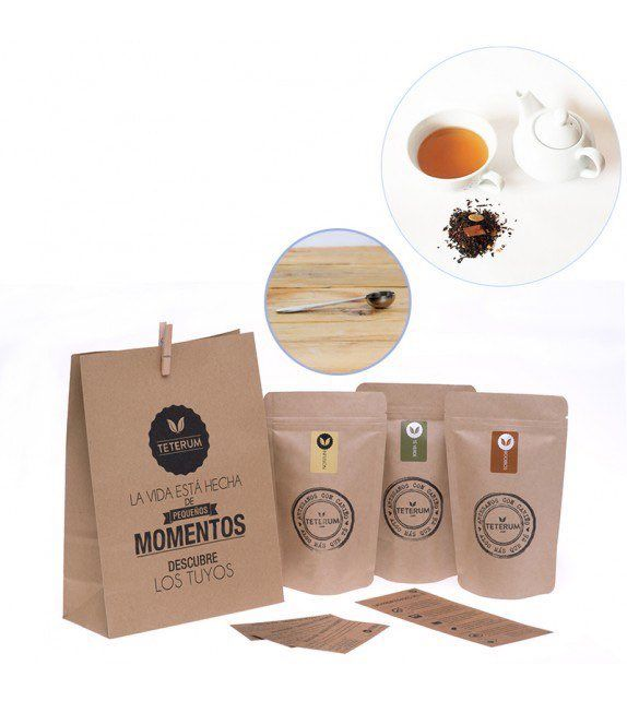 packs de té personalizados