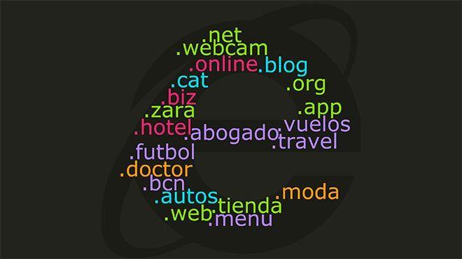 dominios más populares alternativos a .com