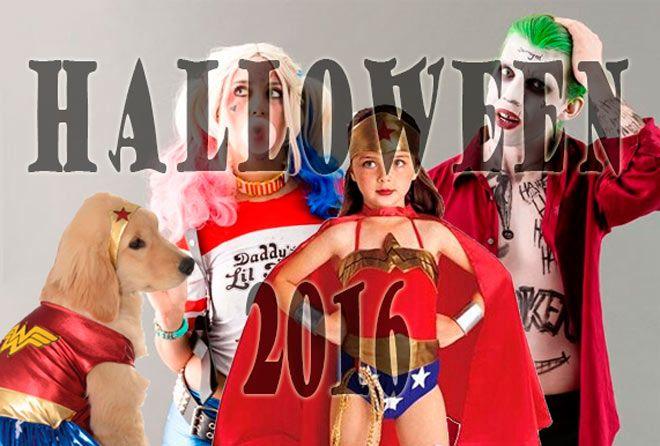 los disfraces más populares de halloween 2016