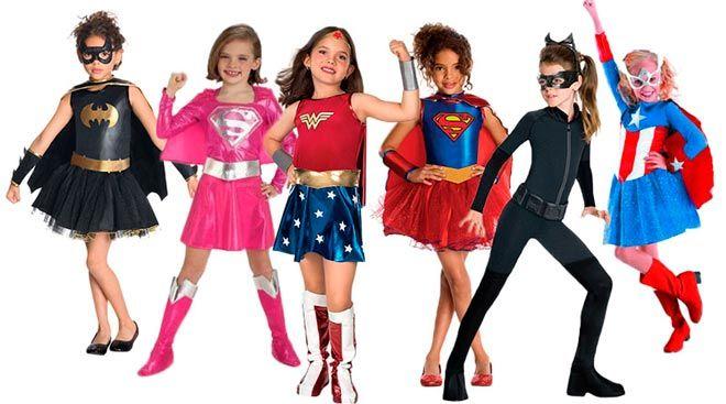 los disfraces mas populares de halloween para nia