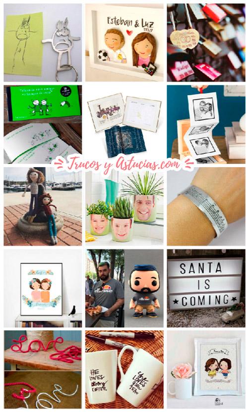 ideas de regalos originales y personalizados para navidad