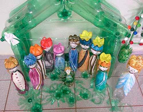 59 Pesebres Caseros Reciclables Para Navidad Con Tutoriales