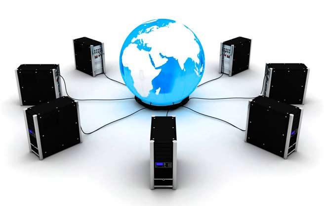 servidores dedicados fisicos conectados en red