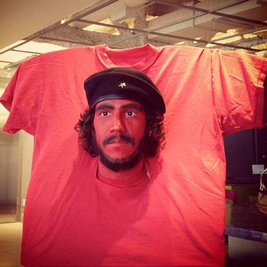 disfraces-caseros-divertidos-camiseta-che-guevara