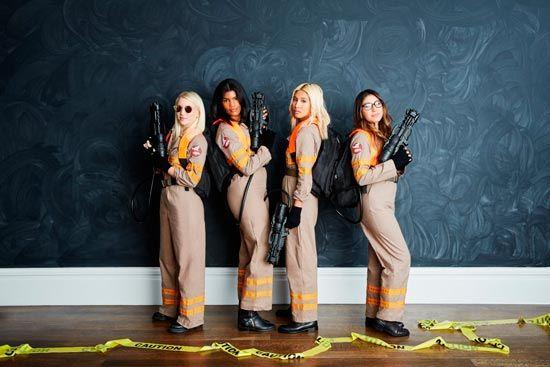 disfraz casero para carnaval para chicas de los ghostbusters