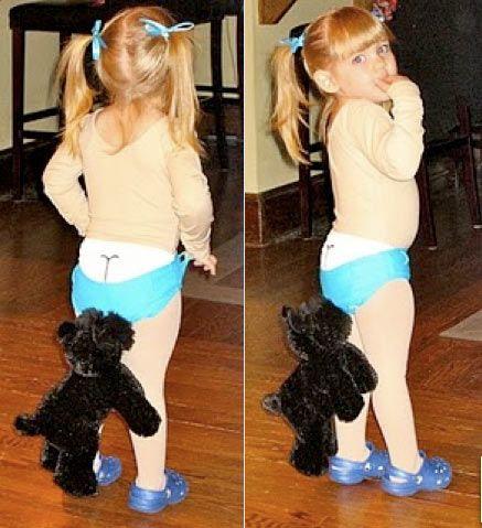 disfraz fácil y original para niña