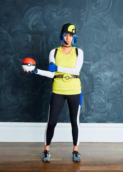 disfraz casero para carnaval de cazadora de pokemon