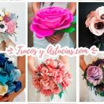 12 Originales Ramos para novia o para regalar (DIY)