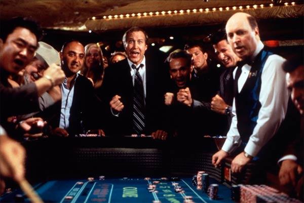 escena jugando a la ruleta en un casino