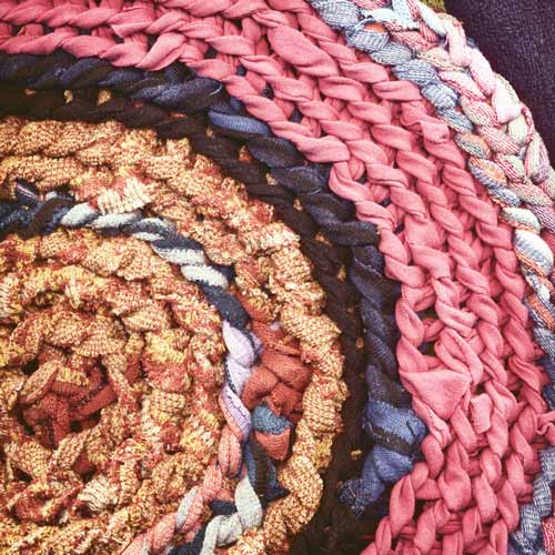 alfombra de trapillo fácil de hacer