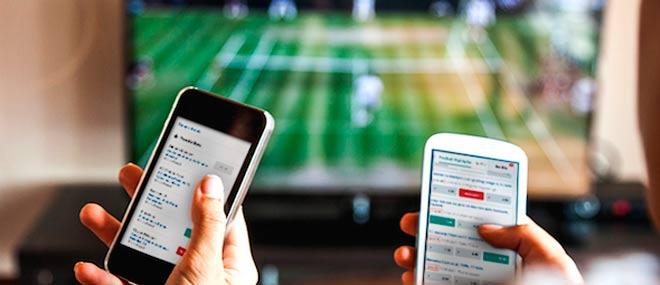 apuesta deportivo en vivo desde un smartphone
