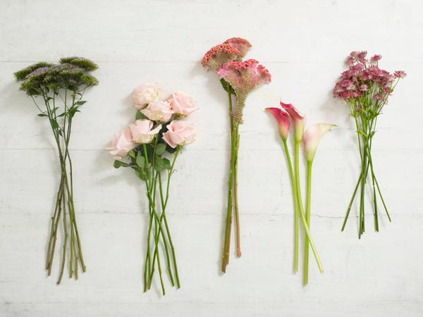 tutorial para hacer un ramo de flores: paso 1