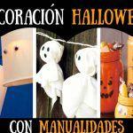 👻 Decoración para Halloween Casera con Manualidades (+40)