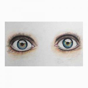 dibujo-ojos-personalizado-idea-para-regalar-navidad