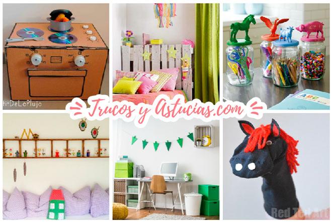 ▷ 27 Increíbles Ideas de Reciclaje para habitaciones Infantiles ...