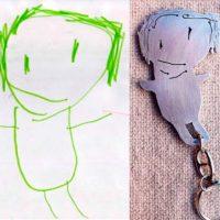 llavero-dibujo-infantil-personalizado-artesania-para-regalar-navidad