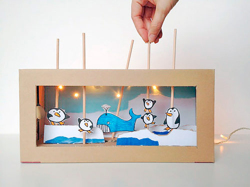 teatrillo infantil para hacer con manualidades