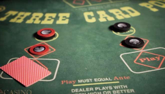 poquer de 3 cartas