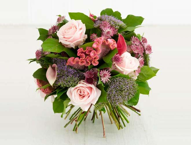 ramo de flores casero diy muy fácil y original