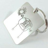 llavero-grabado-dibujo-infantil-plata-idea-regalo-navidad