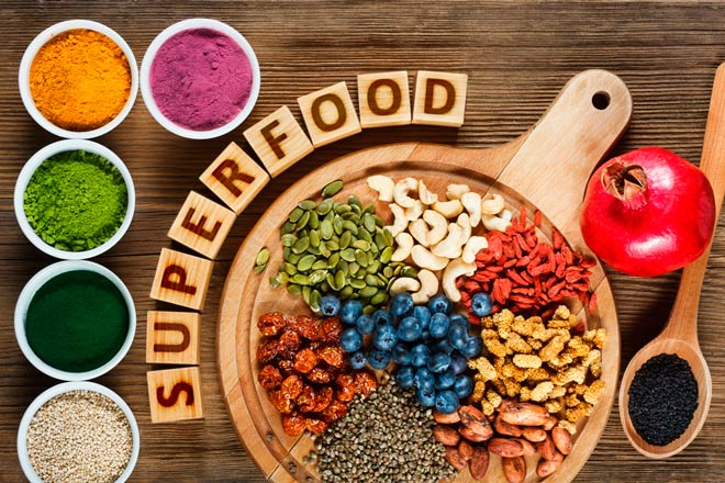 superalimentos para batidos de proteinas caseros