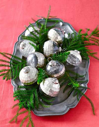 100 centros de navidad caseros para decorar la mesa for Menu navideno facil de hacer