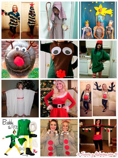 disfraces para navidad para niño y para adulto