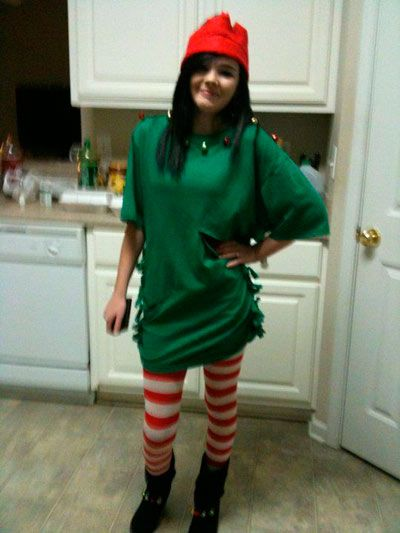 disfraz diy elfo para mujer fácil