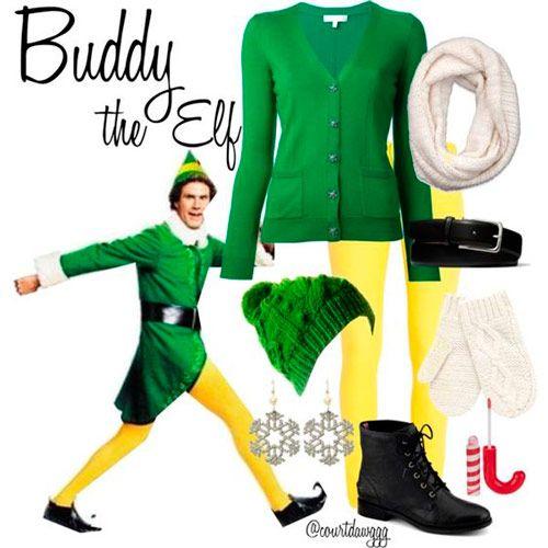 disfraz casero de elfo fácil de hacer