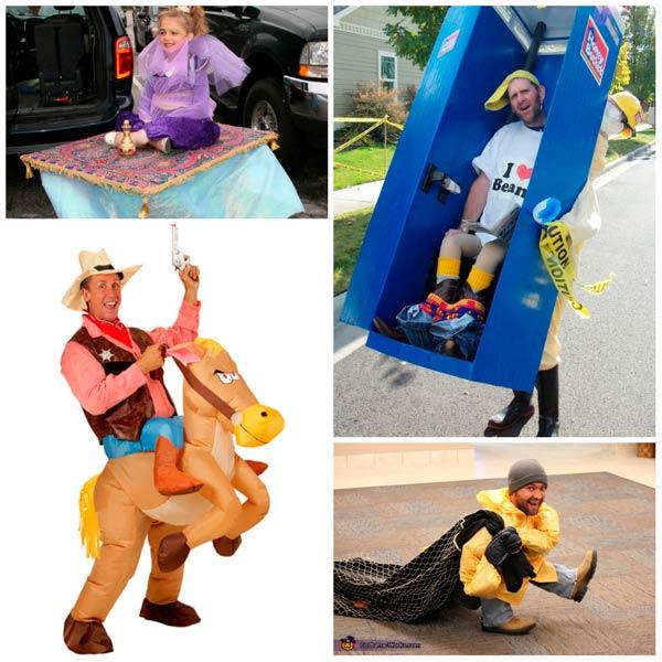 disfraces de carnaval divertidos con efecto optico